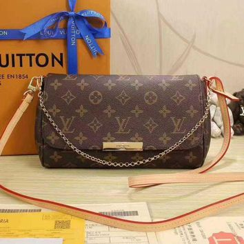 LMFON Tagre LV Women Shopping Leather Metal Chain Crossbody Satchel Shoulder Bag