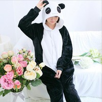 Panda Bear Onesuit Adult Pajama Sleepwear Kawaii