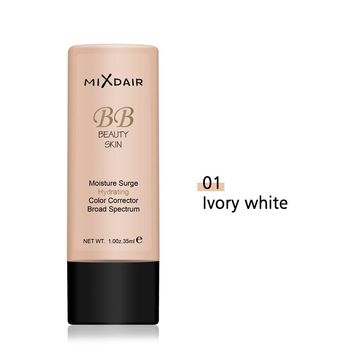 MIXDAIR Face Foundation Cream Make Up Base Natural Full Coverage Foundation Liquid Moisturizing BB Cream Whitening Concealer