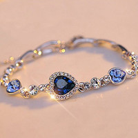 The Virtuous Heart Link Bracelet