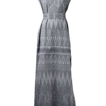 Baja East ikat print dress
