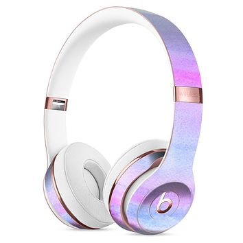 Tie Dyed Absorbed Watercolor Texture Full-Body Skin Kit for the Beats by Dre Solo 3 Wireless Headphones