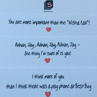 Serial Podcast Notecards or Valentines - Set of 8