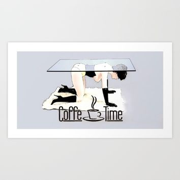 Coffe Time! Art Print by Peter Reiss