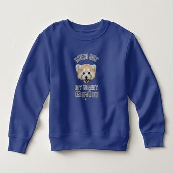 Cheeky Grin Toddler Design by Kat Worth Sweatshirt
