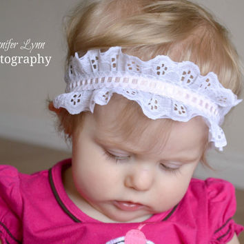 Baby Girl Headbands Toddler Headbands by spoiledNsweet on Etsy