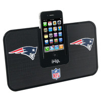 Portable Premium Idock With Remote Control - New England Patriots