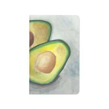 Avocado in Watercolor Journal
