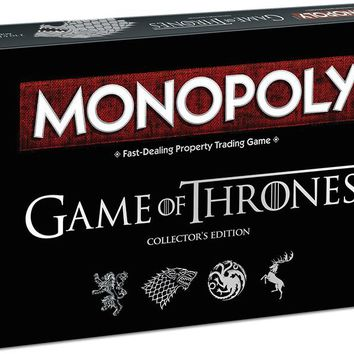 Game of Thrones™ Monopoly® Collector's Edition Board Game