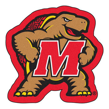 Maryland Terps NCAA Cut-Out Floor Mat