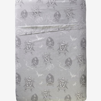 The Nightmare Before Christmas Misfit Love Queen Sheet Set