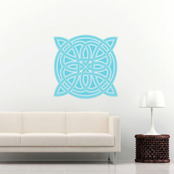 Celtic Knot Wall Decal Celtic Knot Decals Wall Vinyl Sticker Interior Home Decor Vinyl Art Wall Decor Bedroom Mural SV5970