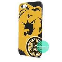 Boston Bruins NHL Sport Logo iPhone Case 3, 4, 5, 6 Cover