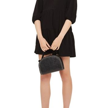 Topshop Embroidered Smock Dress | Nordstrom