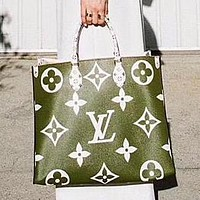 Louis Vuitton LV Popular Women Shopping Bag Leather Handbag Tote Satchel Shoulder Bag