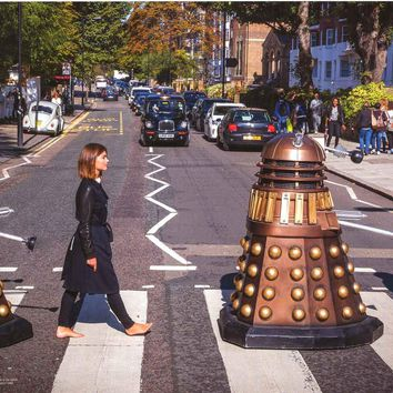 Doctor Who Abbey Road Poster 12x24