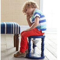 Time Out Timer Stool™ - Navy