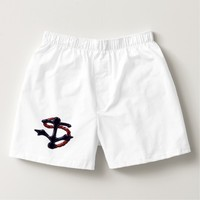 Navy Anchor Red Rope Boxers