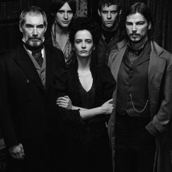 "Penny Dreadful Poster Black and White Poster 24""x36"""