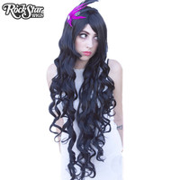 """Cosplay Wigs USA™  Curly 90cm/36"""" - Black -00317"""