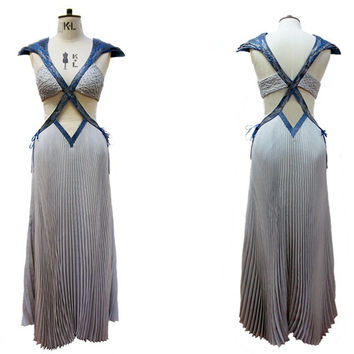 Game of thrones Season 5 Daenerys Targaryen Cosplay Dress