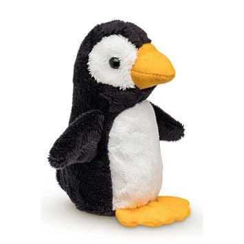 "Single Penguin Mini 4"" Small Stuffed Animal, Zoo Animal Toy, Arctic Party Favor for Kids"