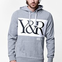 Young & Reckless Hybrid Hoodie - Mens Hoodie - Grey