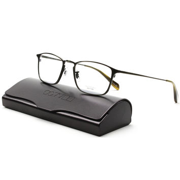 Oliver Peoples 1101T Ziegfeld Eyeglasses Col. 5016 Black Chrome 50 mm