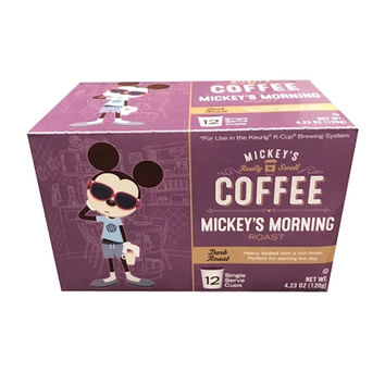 Disney Mickey's Coffee Mickey's Mourning Roast 12 Keurig K-Cup New Sealed