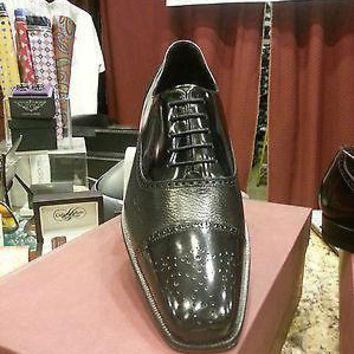NEW MEZLAN TYSON II BURGUNDY OR BLACK MENS DRESS SHOES