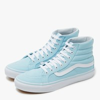 Vans / Sk8-Hi Slim in Crystal Blue/White