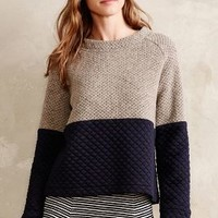 Quiltcraft Pullover by Anthropologie Grey
