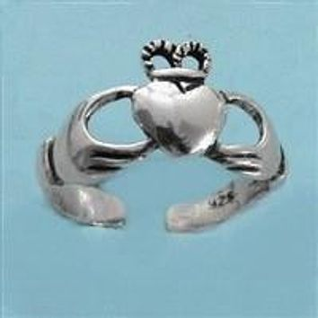 Claddagh Irish Toe Ring