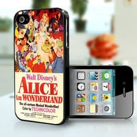 Alice in Wonderland  Vintage  Apple iPhone 4s and by TheCaseCrib