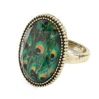 One Eye on the Pea-clock Ring | Mod Retro Vintage Rings | ModCloth.com
