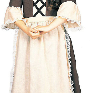 Colonial Girl Child Costume - (12/14)