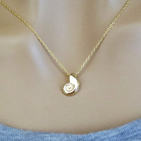 Gold, Ariel, Voice, Necklace, Mermaid, Necklace, Seashell, Necklace, Gold, Shell, Necklace, Little, Mermaid, Necklace