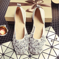 Crystal Rhinestone shoes casual shoes