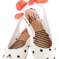 Dolce Vita Darling Prance Partner Flat in Dots