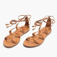 The Boardwalk Lace-Up Sandal : shopmadewell sandals   Madewell