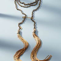 Sahara Storm Rope Pendant Necklace