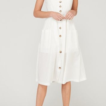 Stephanie Sweetheart Pocket Dress