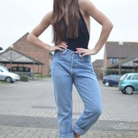 Vintage Levi's 501 Jeans High Waisted from Beworn