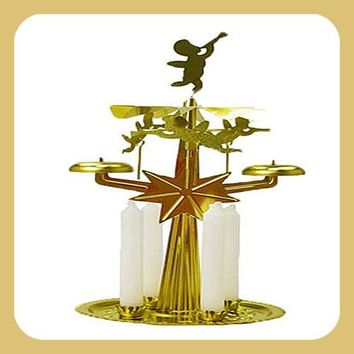 Yule Chime Candle Holder Set