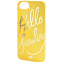 Rifle Paper Co. - Hello Sunshine iPhone 5 + 5s Case - SLIM