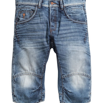 H&M - Denim Shorts - Light denim blue - Men
