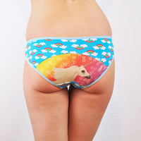 Unicorn and rainbow panties knickers underwear lingerie