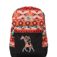 Riot Society Tribal Giraffe Panda School Backpack - Womens Backpack - Multi - One