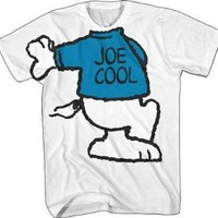 Peanuts Snoopy Joe Cool Costume Body White T-Shirt - Peanuts - | TV Store Online