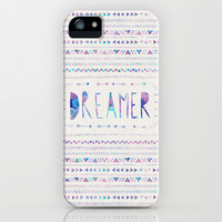 DREAMER iPhone & iPod Case by Bianca Green